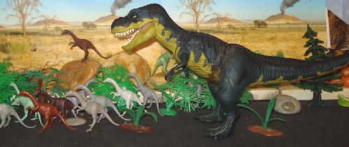 Struthiomimus, Marx Struthiomimus, JP06, Dinosaur Toys