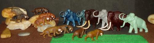 Mamnmoth, Marx, Invicta, MPC, Dinosaur Toys