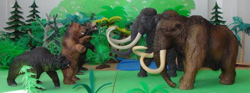 Mammoth, Papo, Schleich, Dinosaur Toys
