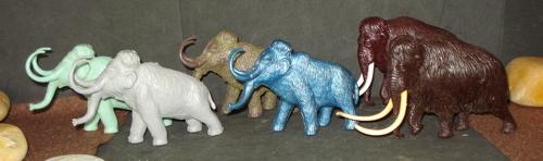 Mammoth, Marx, Invcta, MPC, Dinosaur Toys