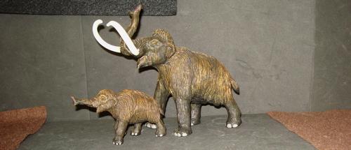 Mammoth, Safari Ltd, Dinosaur Toys