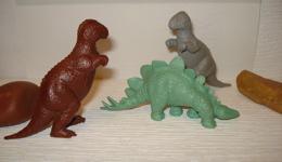 Marx Allosaurus Dinosaur Toys