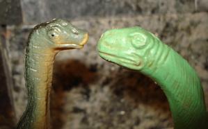 Marx Brontosaurus Dinosaur Toys