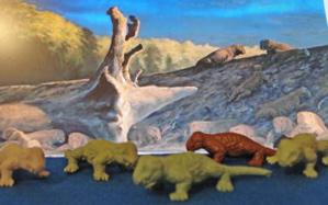 Marx Cynognathus Dinosaur Toys