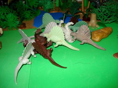 Marx Dimetrodon Dinosaur Toys