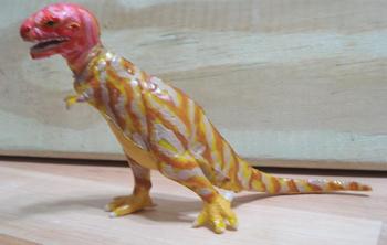 Marx Sleek Tyrannosaurus Rex Painted