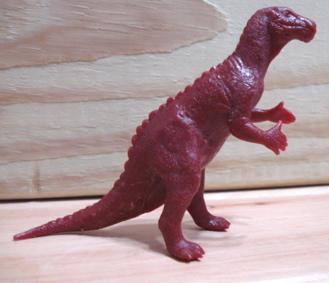 Marx Dinosaur Toys Iguanodon