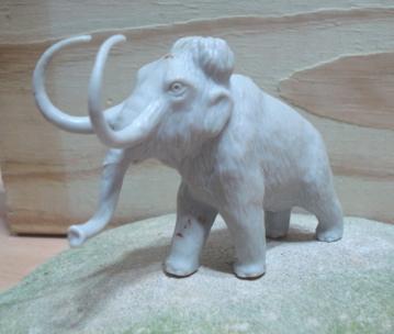Marx Dinosaur Toys Mammoth