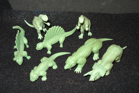 Small Mold Group Dinosaur Toys