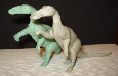Marx Trachodon Dinosaur Toys