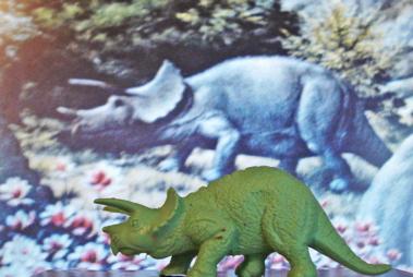 Marx Triceratops Dinosaur Toys