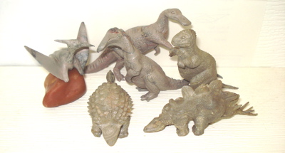 Marx Dinosaur Toys Medium Mold PL-750