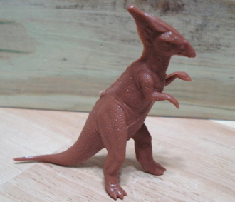 Marx Dinosaur Toys Parasaurolophus
