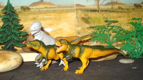 Marx Tyrannosaurus, Dinosaur Toys