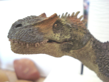 Papo Allosaurus Dinosaur Toys Mouth Shut