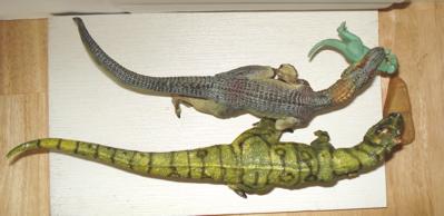 Papo Bullyland Allosaurs Dinosaur Toys