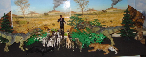 Papo, Allosaurus, Britains, obama, Dinosaur Toys