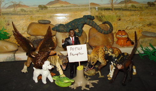 Obama, Dinosaur Toys