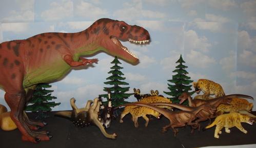 Rexford, Velociraptor, Dinosaur Toys