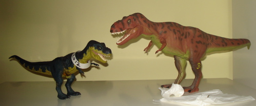 Rexford, T-Rexford, Tyrannosaurus Rexford, Rexford Dinosaur Toys
