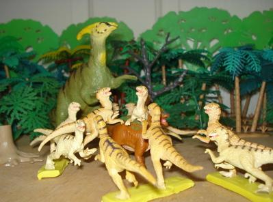 Carnegie Deinonychus Dinosaur Toys