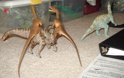 Safari Velociraptor Dinosaur Toys
