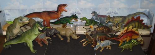 Carnegie Collection, Papo, Tyrannosaurus Rex, Battat, Dinosaur Toys