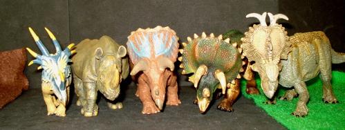 Battat, Papo, Pachyrhinosaurus, Dinosaur Toys