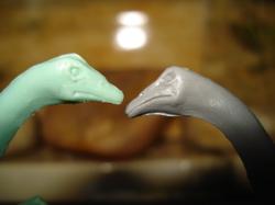 Marx Struthiomimus, Dinosaur Toys