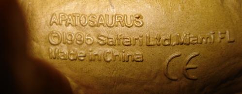 safari, apatosaurus, Dinosaur Toys