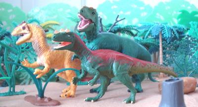 Ceratosaurus Theropod Dinosaur Toys