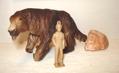 Schleich Megatherium Dinosaur Toys