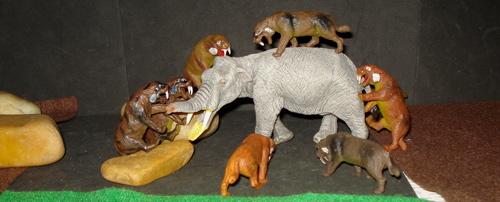 Sabertooth Cat Toys