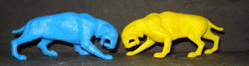Smilodon, MPC, Dinosaur Toys