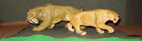 Carnegie Collection, Safari Ltd, Smilodon, Dinosaur Toys