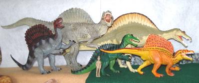 Spinosaurus, Dinosaur toys