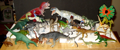 Theropods Dinosaur Toys