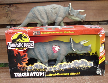 Was and Jurassic park dinosaur toys