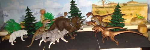 Papo, Triceratops, Velociraptor, Safari Ltd, Dinosaur Toys