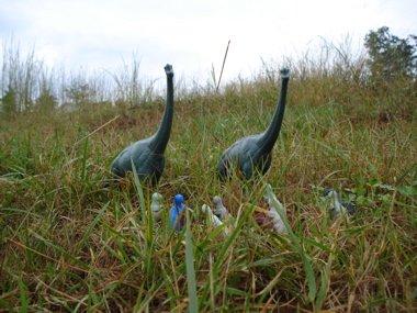 Allosaurus Brachiosaurus Dinosaur Toys