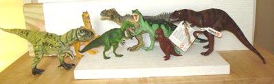 Allosaurus, Allosaurs, Dinosaur Toys