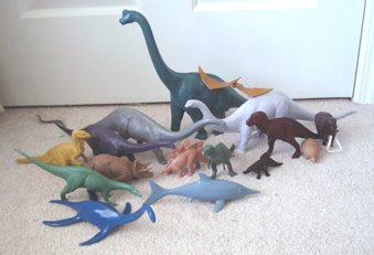 Invicta dinosaurs, dinosaur toys, British Museum of Natural History