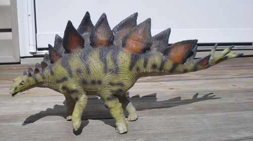 Dinosaur Toys, Bullyland, Stegosaurus, Rexford, Tyrannosaurus