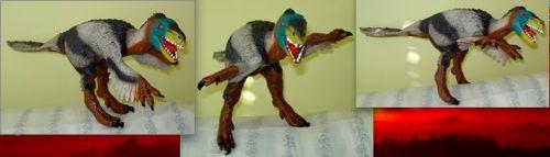 Dinosaur Toys, Rexford, Velociraptor, Bullyland