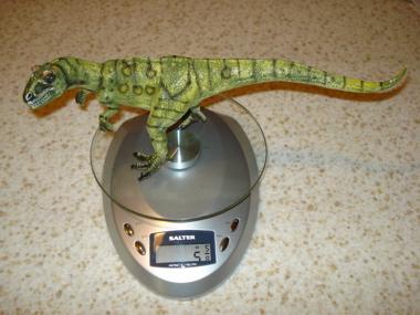 Bullyland Allosaurus Weigh In