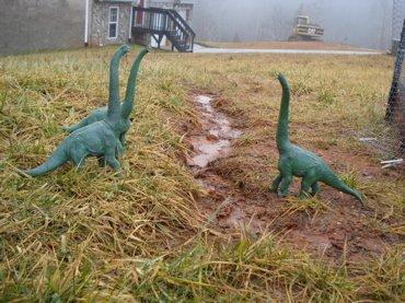 Mega fauna, Dinosaur Toys