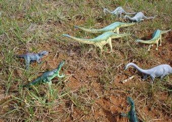 Allosaurus, Diplodocus, Dinosaur Toys