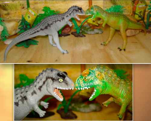 Dinosaur Toys, Carnegie Collection, Carnotaurus, 1996