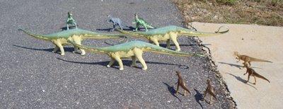Carnegie, Diplodocus, Dinosaur Toys