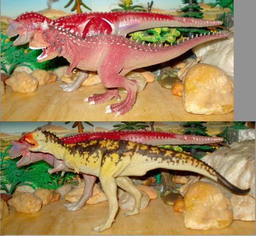 Dinosaur Toys, Carnegie, Schleich, Carnotaurus